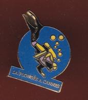 59472-Pin's. Plongée Sous Marine .Cannes. - Plongée