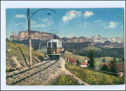 XX004315/ Rittnerbahn Mit Den Dolomitern Südtirol Italien AK 1909 - Italien