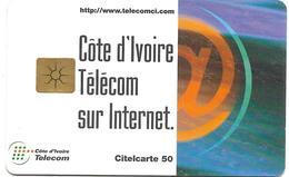 @+  Cote D'Ivoire - Citelcarte - Télécom Sur Internet (Gem1B) - Ivoorkust