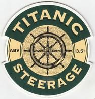TITANIC BREWERY (STOKE, ENGLAND) - STEERGAE - PUMP CLIP FRONT - Uithangborden
