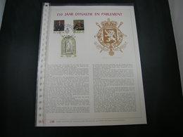 "BELG.1981 2001/2003 Filatelic Gold Card NL. : "" 150 JAAR DYNASTIE EN PARLEMENT  "" - 1981-90"