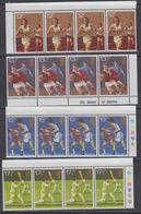 Great Britain 1980 Sports 4v Strips Of 4 ** Mnh (43616) - 1952-.... (Elizabeth II)