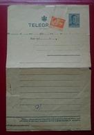 Romania Telegrama - 1918-1948 Ferdinand, Charles II & Michael