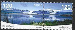 Islande 2009 N°1176/1177 Neufs** SEPAC Paysages Du Vatnajökull - Ungebraucht