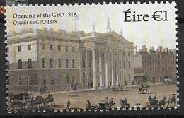 Irlande 2018 Timbre Neuf ** Centenaire Du Bureau De Poste Principal - Nuovi