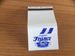 Pochette D'allumettes ANGLETERRE «FLAVOUR OF France FOOD FESTIVAL» - Matchboxes