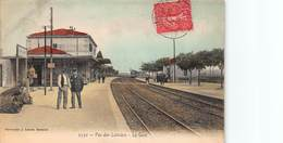 CPA Pas-des-Lanciers - La Gare - Francia