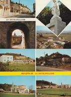 2 CPSM 26 LA BATIE-ROLLAND MULTIVUES - Francia
