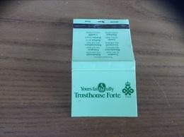 Pochette D'allumettes ANGLETERRE «Yours Faithfully Trusthouse Forte» - Matchboxes