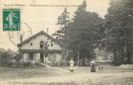 91 - FORET DE SENART - Maison Forestière Du Carrefour De La Souche En 1910 - Sénart