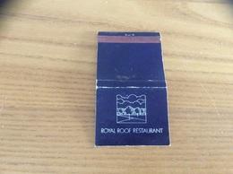 Pochette D'allumettes ANGLETERRE «ROYAL ROOF RESTAURANT» - Matchboxes