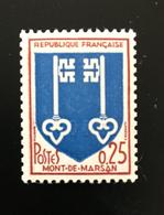 ROULETTE 1966 - BLASON MONT DE MARSAN N° 1469a - N° Rouge - NEUF ** MNH - Roulettes