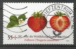BRD 2010  Mi.Nr. 2777, Erdbeere - Wohlfahrtspflege - Selbstklebend / Self-adhevise - Gestempelt / Fine Used / (o) - BRD