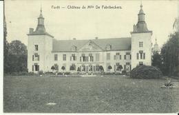 Forêt -- Château De Mlle De Fabribeckers.  ( 2 Scans ) - Trooz