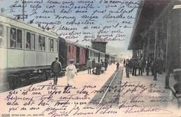 CPA YVERDON - La Gare - VD Vaud