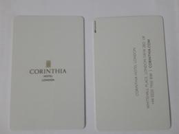HOTEL KEY CARD - CORINTHIA HOTEL LONDON - Hotelsleutels (kaarten)