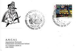 ITALIA - 1976 PREDAPPIO  (FO) Inaugurazione Cà De Sanzves (il Passatore, Grappolo D'uva) - Vini E Alcolici