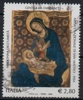 """Italia - Repubblica 2006 """"Gentile Da Fabriano €. 2,80"""" Usato - 6. 1946-.. Repubblica"""