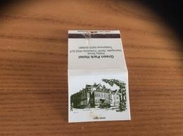 Pochette D'allumettes ANGLETERRE «Green Park Hotel - Harrogate» - Matchboxes