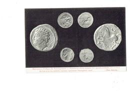 Cpa - 21 - PRO ALÉSIA - Monnaies Effigie De Vercingétorix - Monnaie D'or Médaille Romaine - - Monnaies (représentations)