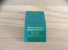 Pochette D'allumettes ANGLETERRE «GRANTS HOTEL - Harrogate» - Matchboxes