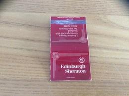 "Pochette D'allumettes ECOSSE ""Edinburgh Sheraton"" - Matchboxes"