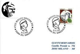 ITALIA - 1990 MERCATO SARACENO (FO) Sagra Del Vino Sangiovese (il Saraceno) - Vini E Alcolici