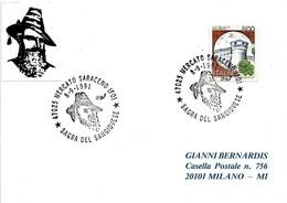 ITALIA - 1991 MERCATO SARACENO (FO) Sagra Del Vino Sangiovese (il Passatore) - Vini E Alcolici