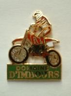 Pin's MOTO - DOMAINE D'IMBOURS - Motos