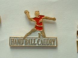 Pin's HANDBALL CAUDRY - Handball