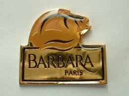 Pin's BARBARA PARIS - COQUILLAGE - Marcas Registradas