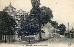 "796.  Villa Et Clos ""St Vigor"".Cachet G.V.C Viroflay-Secteur B- Groupe 3- Poste 7 - Viroflay"