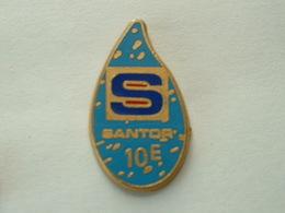 Pin's SANTOR - ZAMAC - Marcas Registradas