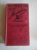 GUIDE DU PNEU MICHELIN 1955 800FRS - Voyages