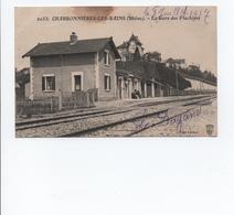 CPA - 69 - Charbonnières Les Bains - La Gare Des Flachères  -  A VOIR - Charbonniere Les Bains