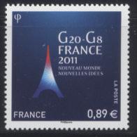 N° 4575 G20-G8 Faciale 0,89 € - Neufs