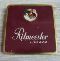 AC - RITMEESTER LIVARDE CIGARS EMPTYTIN BOX FINE CONDITION - Contenitori Di Tabacco (vuoti)
