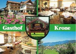ÜBERSAXEN : Gasthof Krone - Multivues - Affr Philatélique - Feldkirch