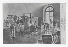 Salons De Paris - La Douche Au Régiment - Eugène Chaperon - Paintings