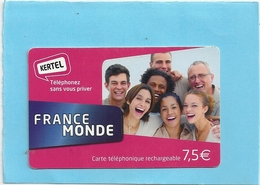 "CARTE TELEPHONIQUE "" KERTEL FRANCE-MONDE "" - France"