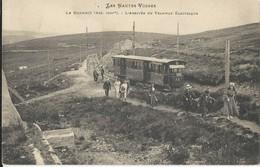 Le Honneck  Arrivée Du Tramway Electrique - France
