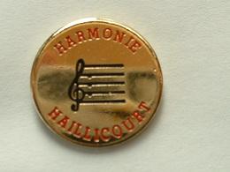 PIN'S HARMONIE HAILLICOURT - Música