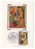 Carte Maximum 1981 - Albert Gleizes Composition YT  2137 - Paris - 1980-89