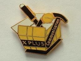 PIN'S XPLUS COMMUNICATION - EMAIL - STYLO - MONTRE - Marcas Registradas