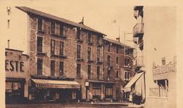 66. BOURG MADAME. CPA. RARETE. ENTRÉE DU VILLAGE COTE PARIS. . + TEXTE ANNÉE 1937 - Autres Communes