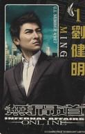 TARJETA FUNCIONAL DE CHINA. ON LINE. INFERNAL AFFAIRS 1. MING (350) - Cine & TV