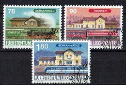 Liechtenstein 1997 // Mi. 1155/1157 O - Liechtenstein
