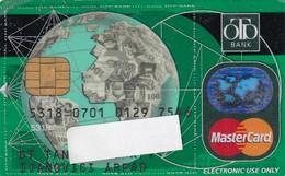 Hungarian Bank Card - Krediet Kaarten (vervaldatum Min. 10 Jaar)