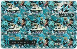 UK (Mercury) - Corporate Christmas 1994 - 49MERTWOA - MER654 - 10.363ex, Used - United Kingdom