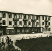 Suisse Alpes Hotel Stauserhorn Kulm Ancienne Photo Stereo 1900 - Stereoscoop